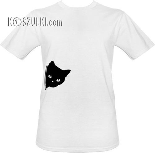 t-shirt Kotek