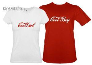 Koszulki dla pary-Zestaw Cool para