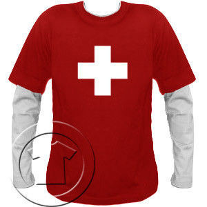 Bluza męska przedłużony rękaw Krzyżyk