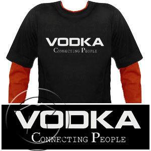 Bluza męska przedłużony rękaw Vodka