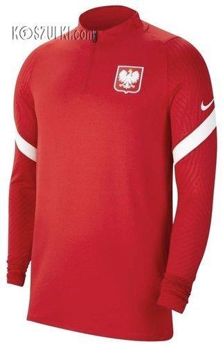 Bluza  treningowa Nike Polska Dry Strike Drill Top CV0564-611  Reprezentacji Polski