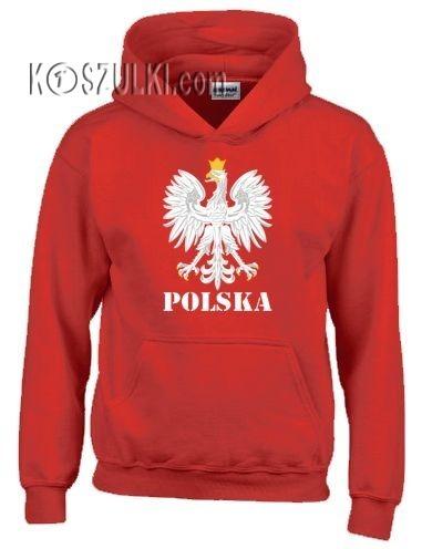 Bluza z kapturem dziecięca Orzeł Polska