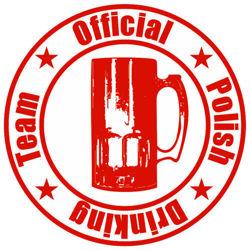 Bluza z kapturem Polish Drinking Team