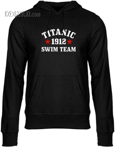 Bluza z kapturem TITANIC SWIM TEAM