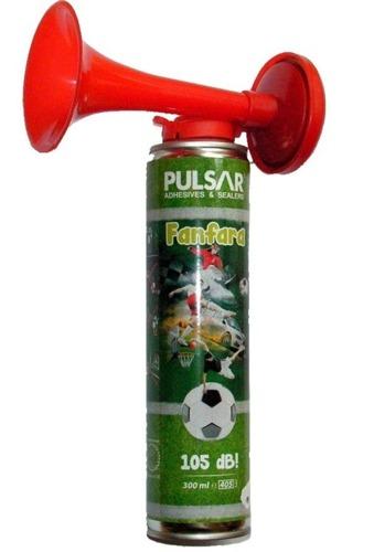 Trąbka kibica na gaz  Fanfara gazowa  na spreżone powietrze Bardzo głośna 105Db
