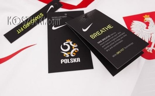 Koszulka Nike Reprezentacji Polski MŚ2018 Oryginalna Breathe Top 893891-100 Home biała