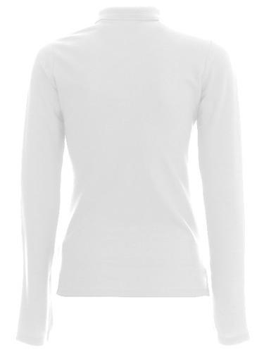 Koszulka Polo dlugi rękaw- Damska- biała