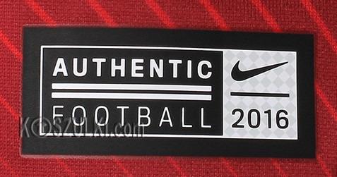 Oryginalna Koszulka Reprezentacji Polski Nike Euro2016 Home Czerwona Supporters Tee Nazwisko