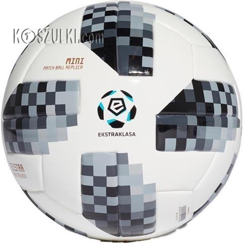 Piłka nożna adidas Telstar 18 Ekstraklasa Mini CE7375