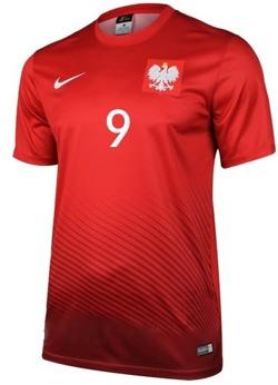 Strój kibica Reprezentacji Polski Nike Poland Koszulka i spodenki -własny numer i nazwisko-