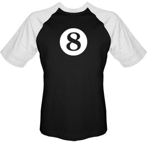 T-shirt BASEBALL - 8 ball