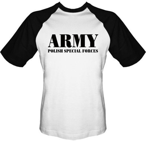 T-shirt Baseball Army