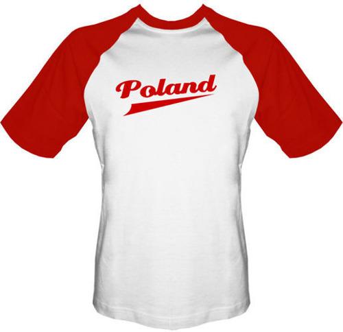 T-shirt Baseball Poland