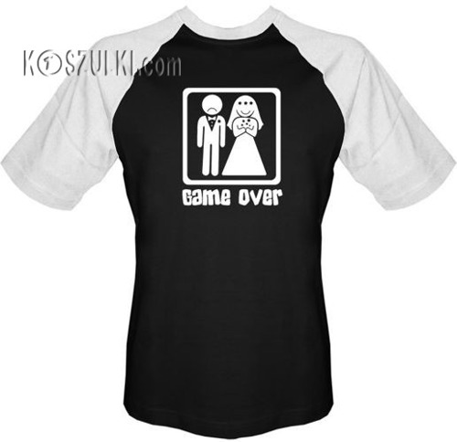 T-shirt BASEBALL - Ślub
