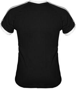 T-shirt FIT Daję z siebie w pracy 100 procent Czarny