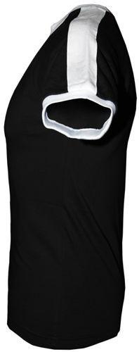 T-shirt Fit Nieszczęścia Czarny