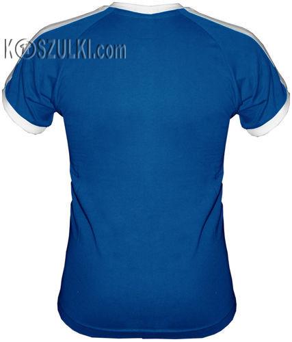 T-shirt Fit Oj Tam Oj Tam Niebieski