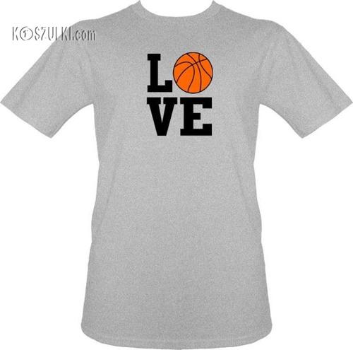 T-shirt Love Basketball