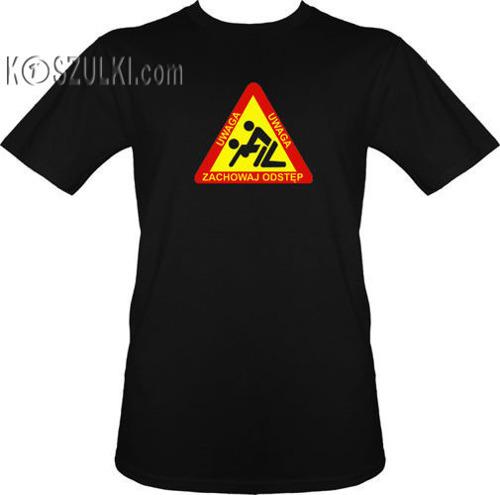 T-shirt Zachowaj Odstęp