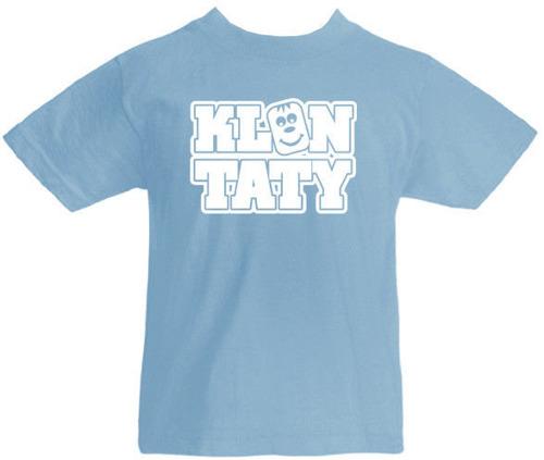 T-shirt dziecięcy Klon Taty