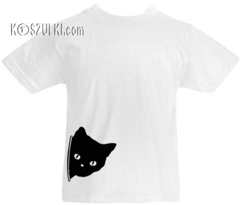 T-shirt dziecięcy- Kotek