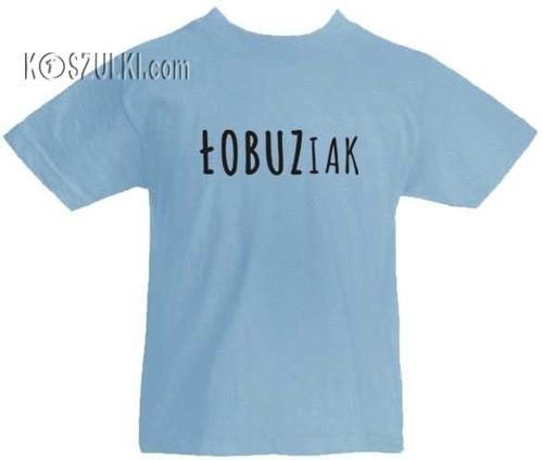 T-shirt dziecięcy Łobuziak
