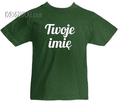 T-shirt dziecięcy z imieniem