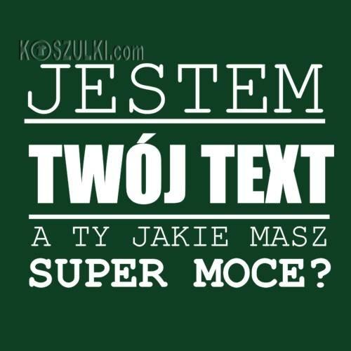 T-shirt super moce- Text