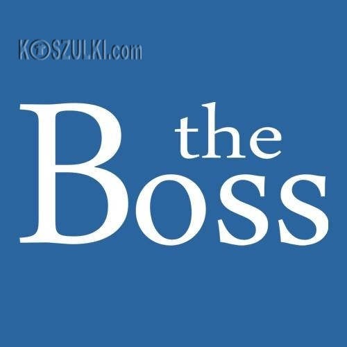 T-shirt the Boss