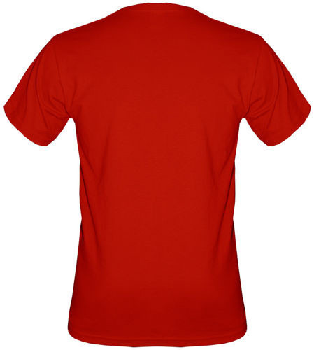 T-shirt v-Neck T1V08 Orzeł Poland Czerwony