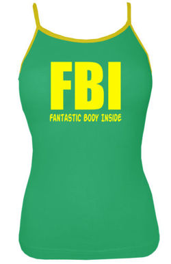 Top damski- FBI-Fantastic Body Inside