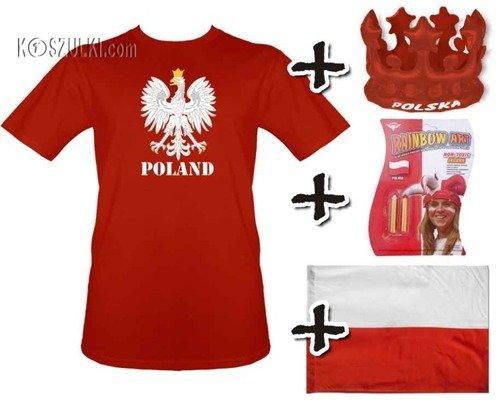 Zestaw kibica reprezentacji polski 1