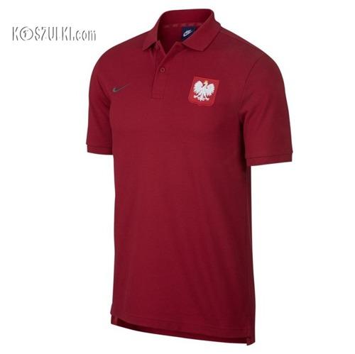 koszulka Polo Nike reprezentacji Polska 2018 czerwona