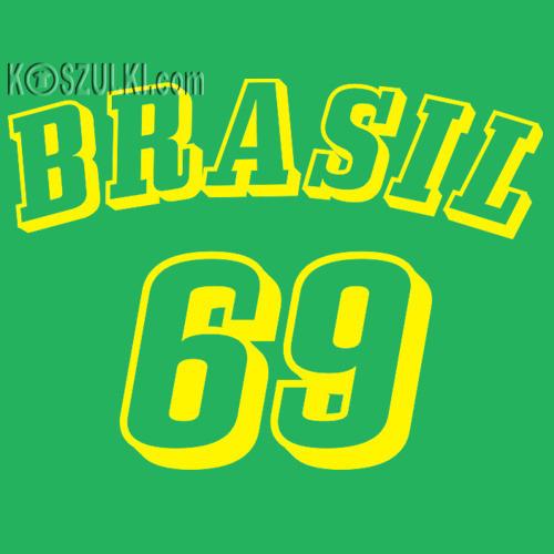 koszulka damska Brazylia