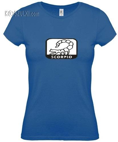 koszulka damska Skorpion znak  zodiaku