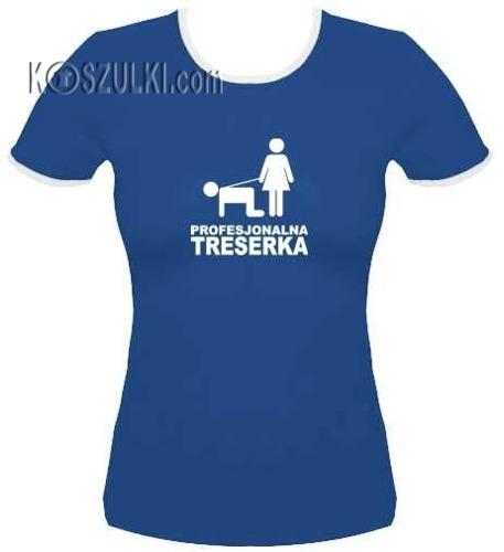 koszulka damska Treserka Niebieska