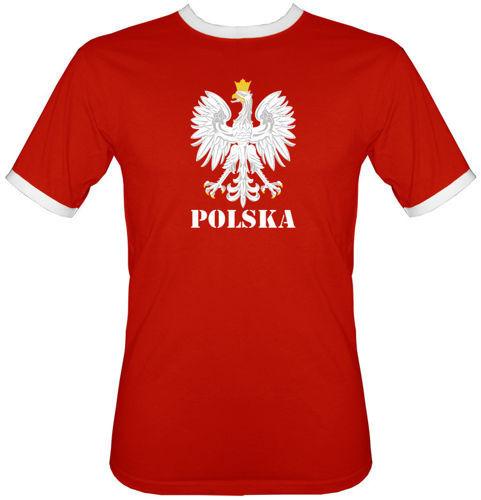 t-shirt 2K001 Orzeł Polska Czerwony