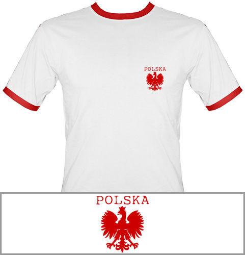 t-shirt 2K007 Polska mały Orzeł Biały