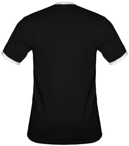 t-shirt 2K023 Polska mały herb Orzeł Czarny