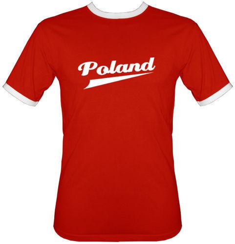 t-shirt 2K120 Poland Czerwony