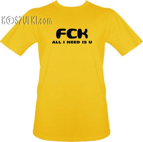 t-shirt All I Need