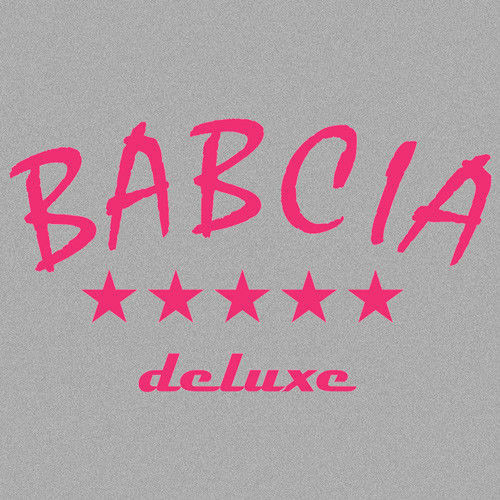 t-shirt Babcia Deluxe