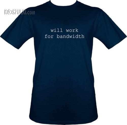t-shirt Bandwidth