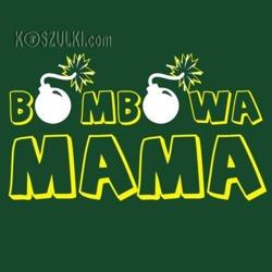 t-shirt Bombowa Mama
