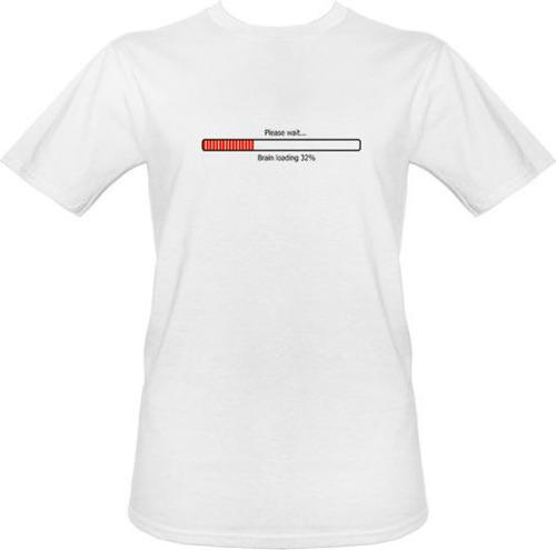 t-shirt Brain is Loading