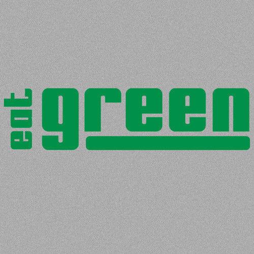 t-shirt Eat Green