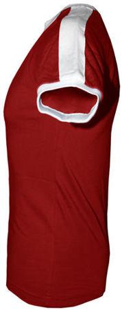 t-shirt Fit  z własnym nadrukiem Czerwony
