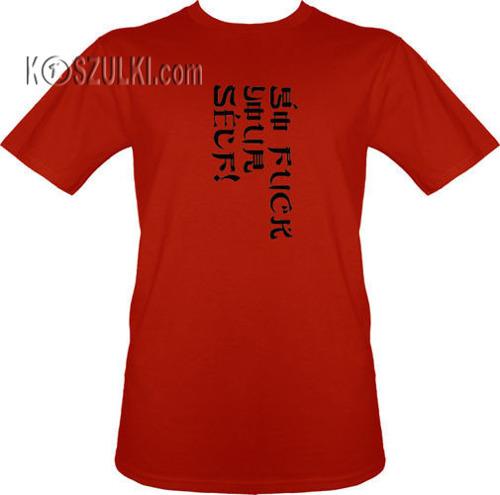 t-shirt Go fuck Yourself