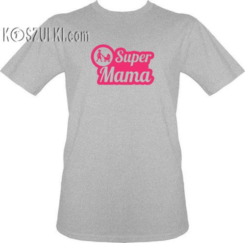 t-shirt Super mama