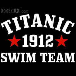 t-shirt Titanic Swim Team